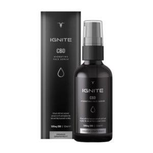 IGNITE CBD Hydrating Face Serum 500mg