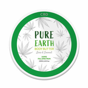 Pure Earth CBD Body Butter – 250mg Lime and Coconut